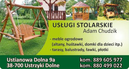 Adam Chudzik - Usługi stolarskie